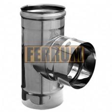Tee 90 deg. (0,8 mm; AISI 430)