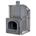 The pig-iron bathing furnace Hephaestus ZK 30 Uragan (P)