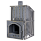 The pig-iron bathing furnace Hephaestus ZK 30 Uragan (P)