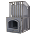 The pig-iron bathing furnace Hephaestus ZK Uragan 40 (P)