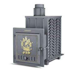 Cast-iron bath furnace Hephaestus ZK (PB-03 ZK)