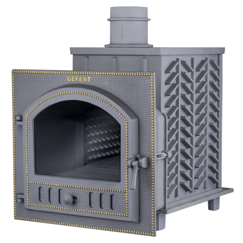 "Cast-iron bath furnace ""Hephaestus ZK 25 (P)"""