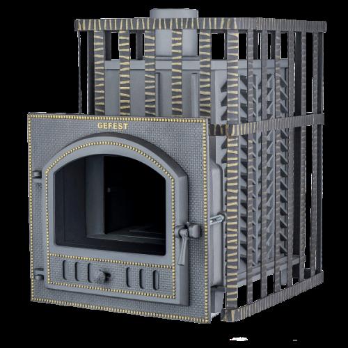 """Cast-iron bath stove """"Hephaestus ZK 30(P)"""""""