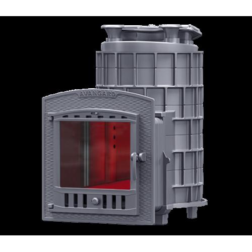 Cast iron stove for a bath AVANGARD (AVANTGARDE) ZK 30P2