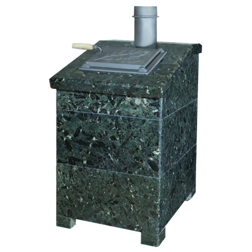 Facing President 850/50 Serpentinite for stoves Hephaestus PB-04-ZK