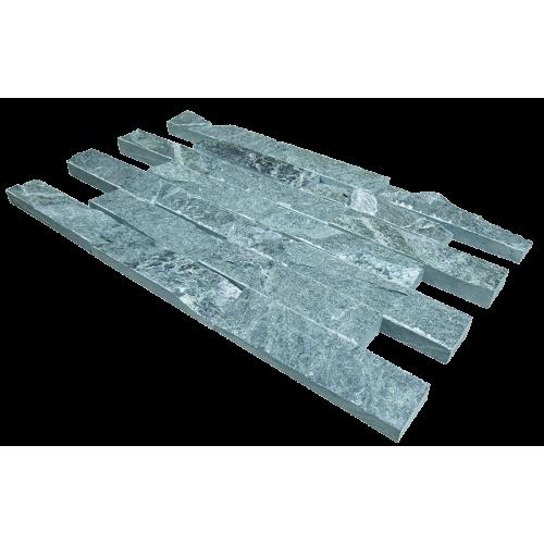 "Facing tile 200х50х20 ""torn stone"" талькохлорит"