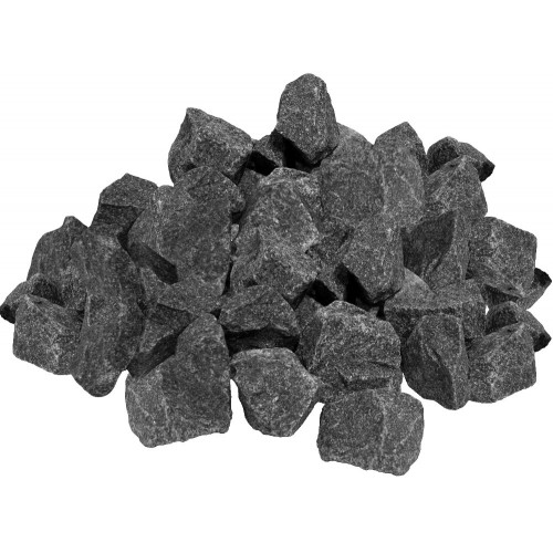 Stones for the bath Gabbro-Diabase crushed (box 20 kg)