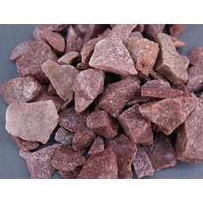 Stones for the bath Raspberry quartz chopped (box 20 kg)