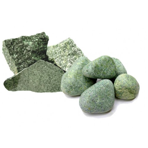 Stones for the bath Jadeite polished (bucket 5 kg)