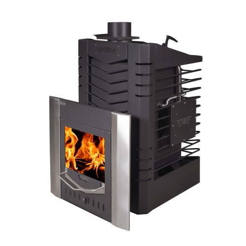 Stove for Russian bath No. 04 MSP with a steam generator