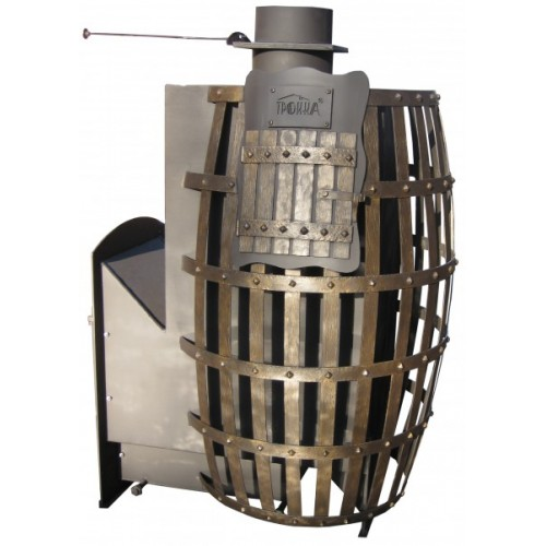 The furnace for the Russian bath Troika №01R barrel
