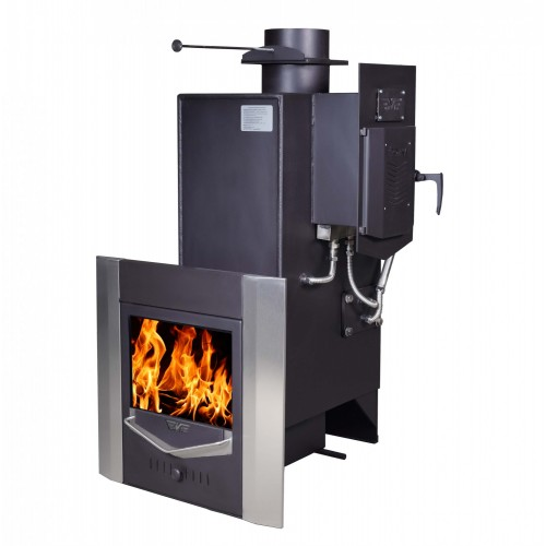 Stove for Russian bath Troika-MP (30m3) with steam generator